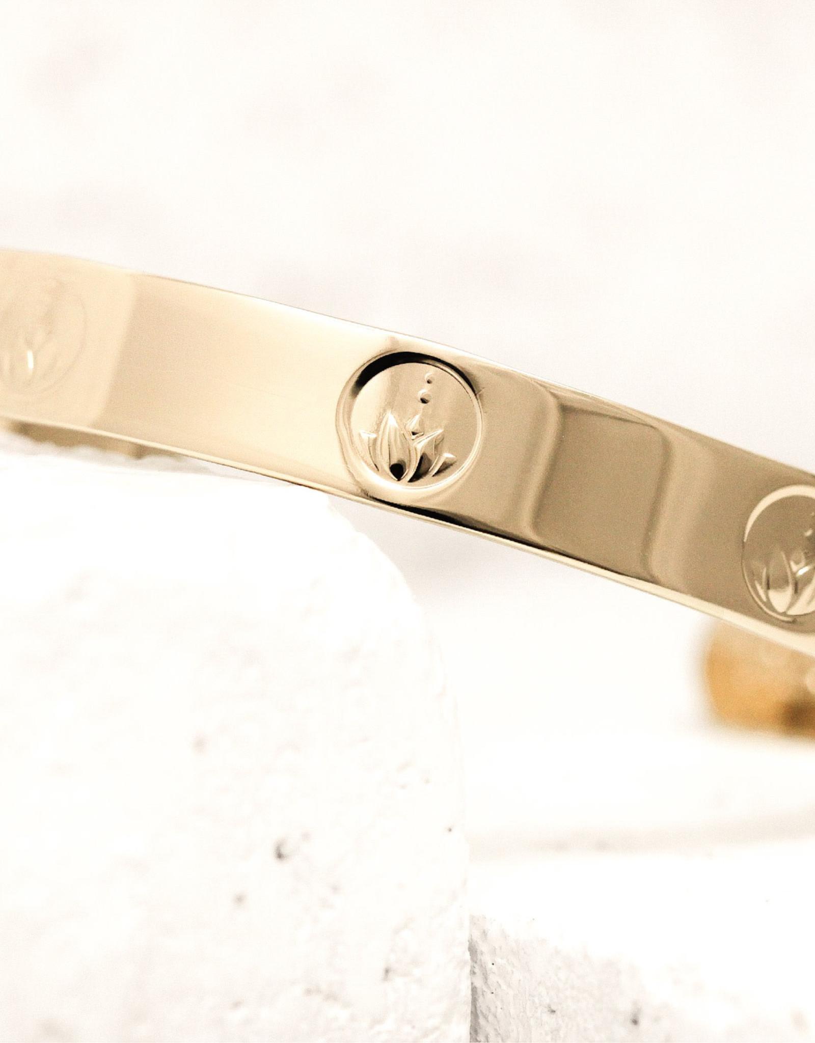 Pieces of Me Bracelet Honest Gold