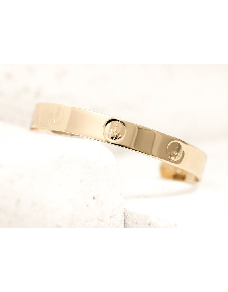 Pieces of Me Cuff Honest Gold