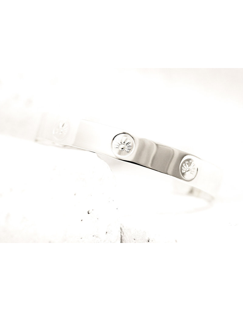Pieces of Me Cuff Intelligent Silver