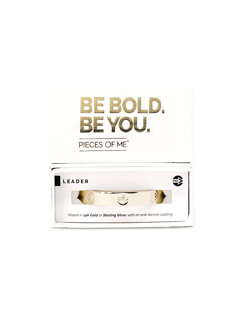 Pieces of Me Cuff Leader Gold