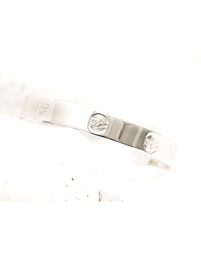 Pieces of Me Cuff Leader Silver