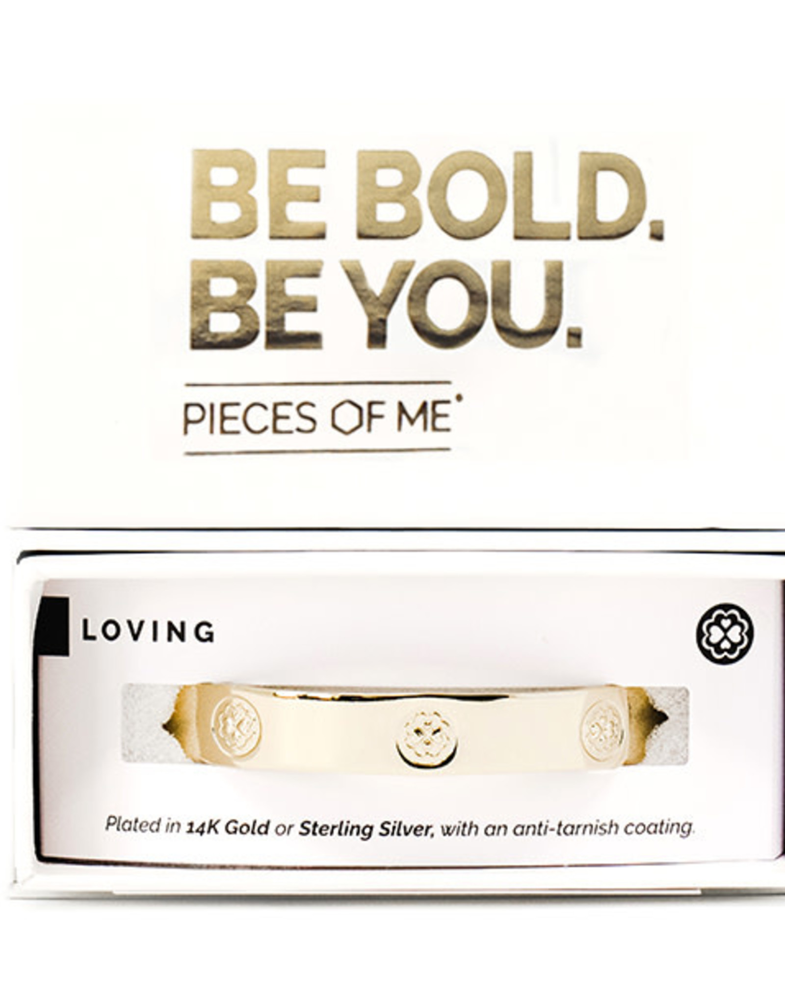 Pieces of Me Bracelet Loving Gold