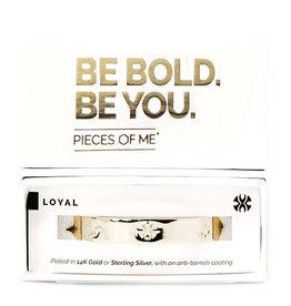 Pieces of Me Bracelet Loyal Gold