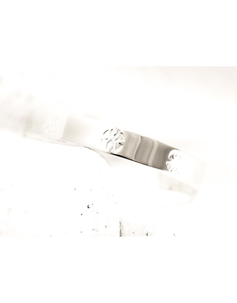 Pieces of Me Cuff Loyal Silver
