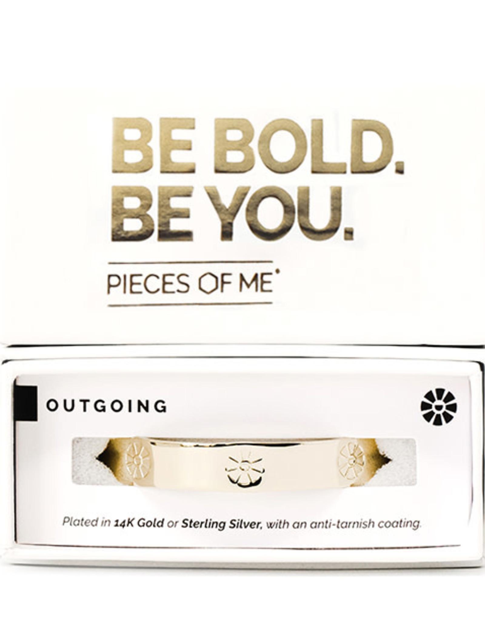 Pieces of Me Bracelet Outgoing Gold