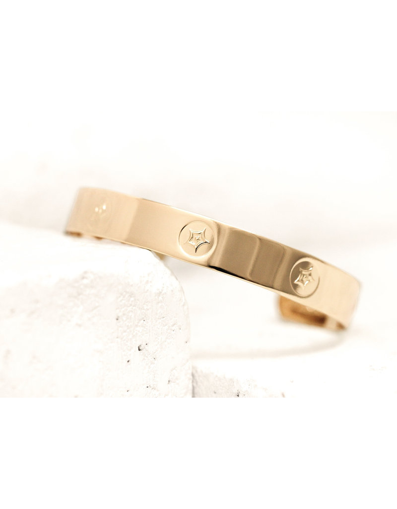 Pieces of Me Cuff Passionate Gold