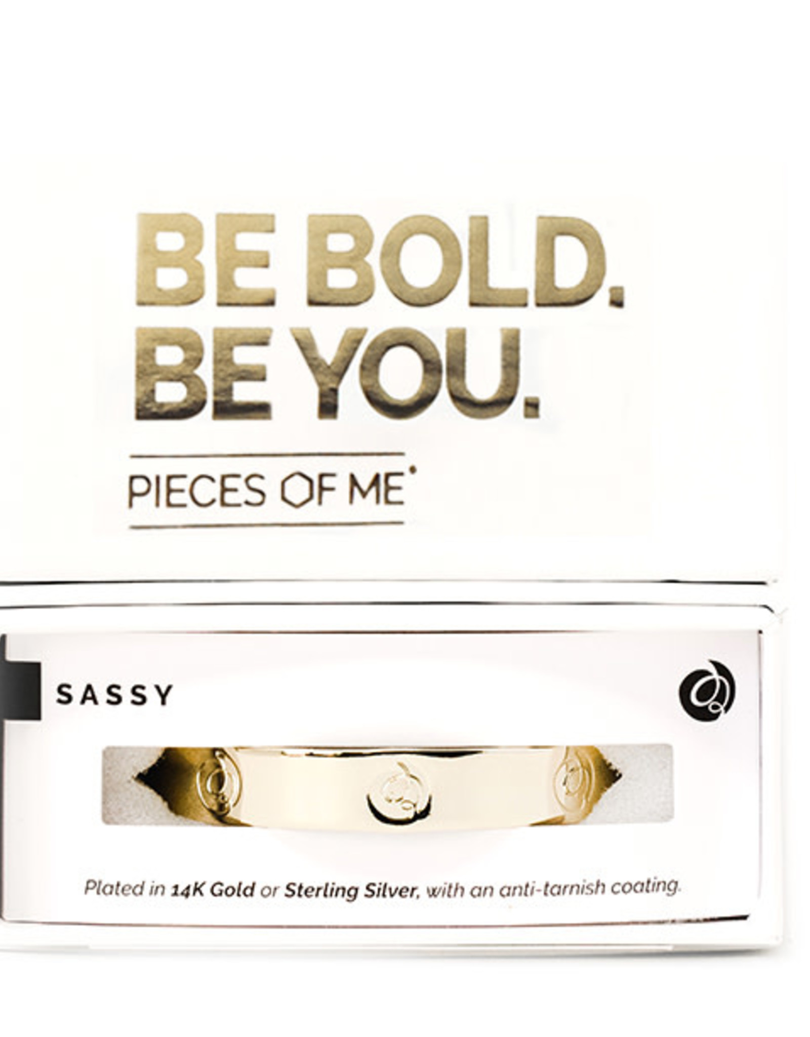 Pieces of Me Bracelet Sassy Gold