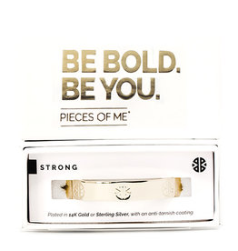 Pieces of Me Bracelet Strong Gold