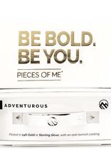 Pieces of Me Bracelet  Adventurous Silver