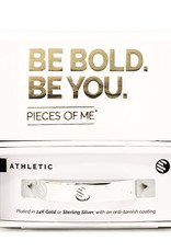 Pieces of Me Bracelet Athletic Silver
