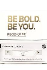 Pieces of Me Bracelet Compassionate Silver