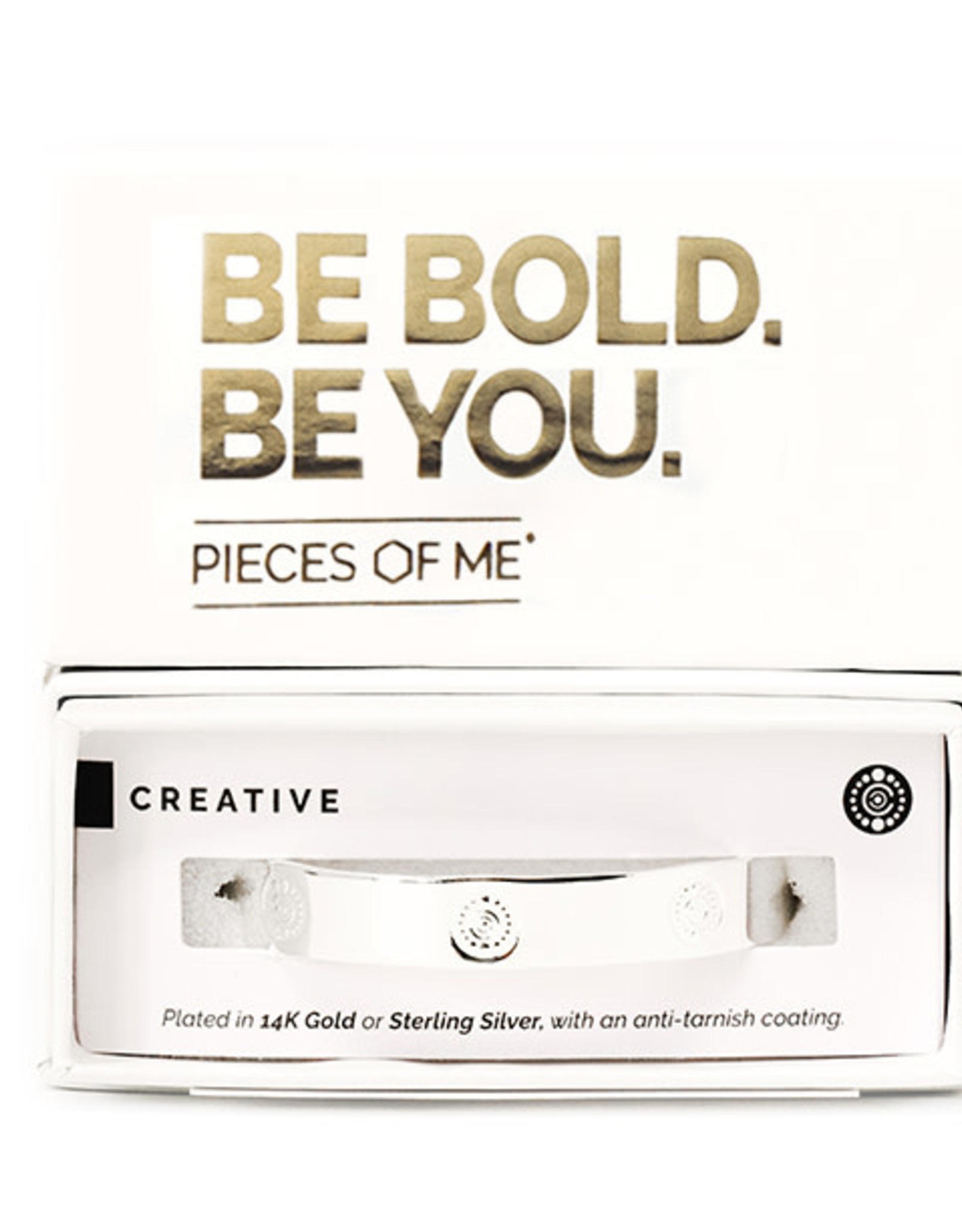 Pieces of Me Bracelet Creative Silver