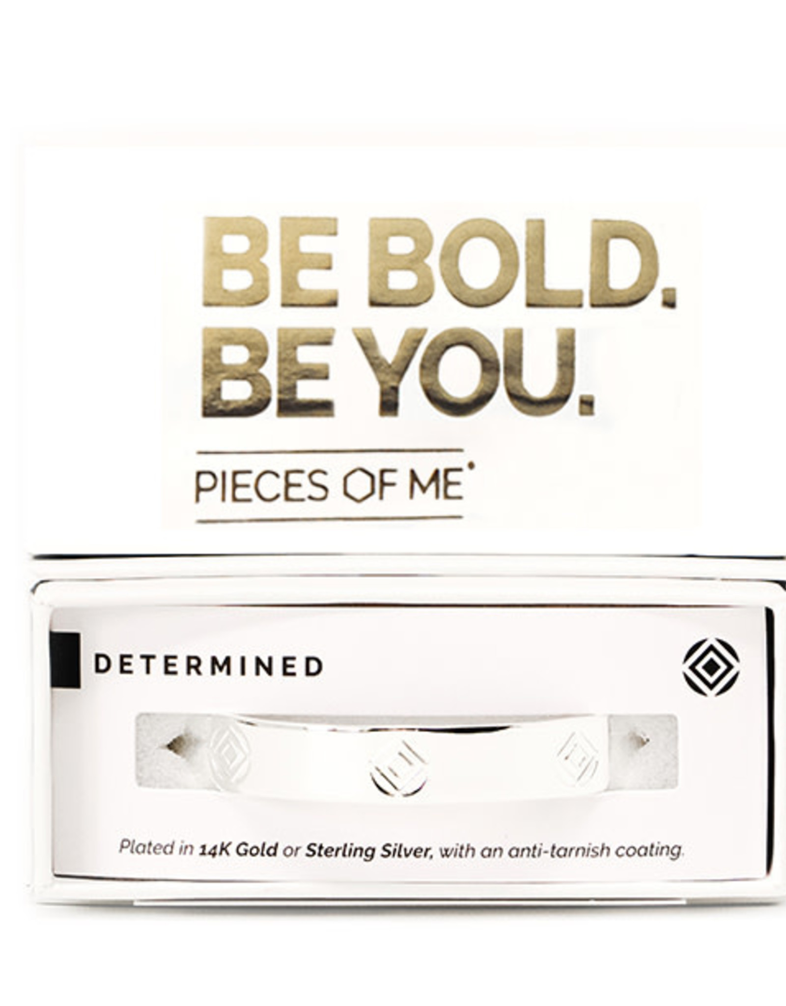 Pieces of Me Bracelet Determined Silver