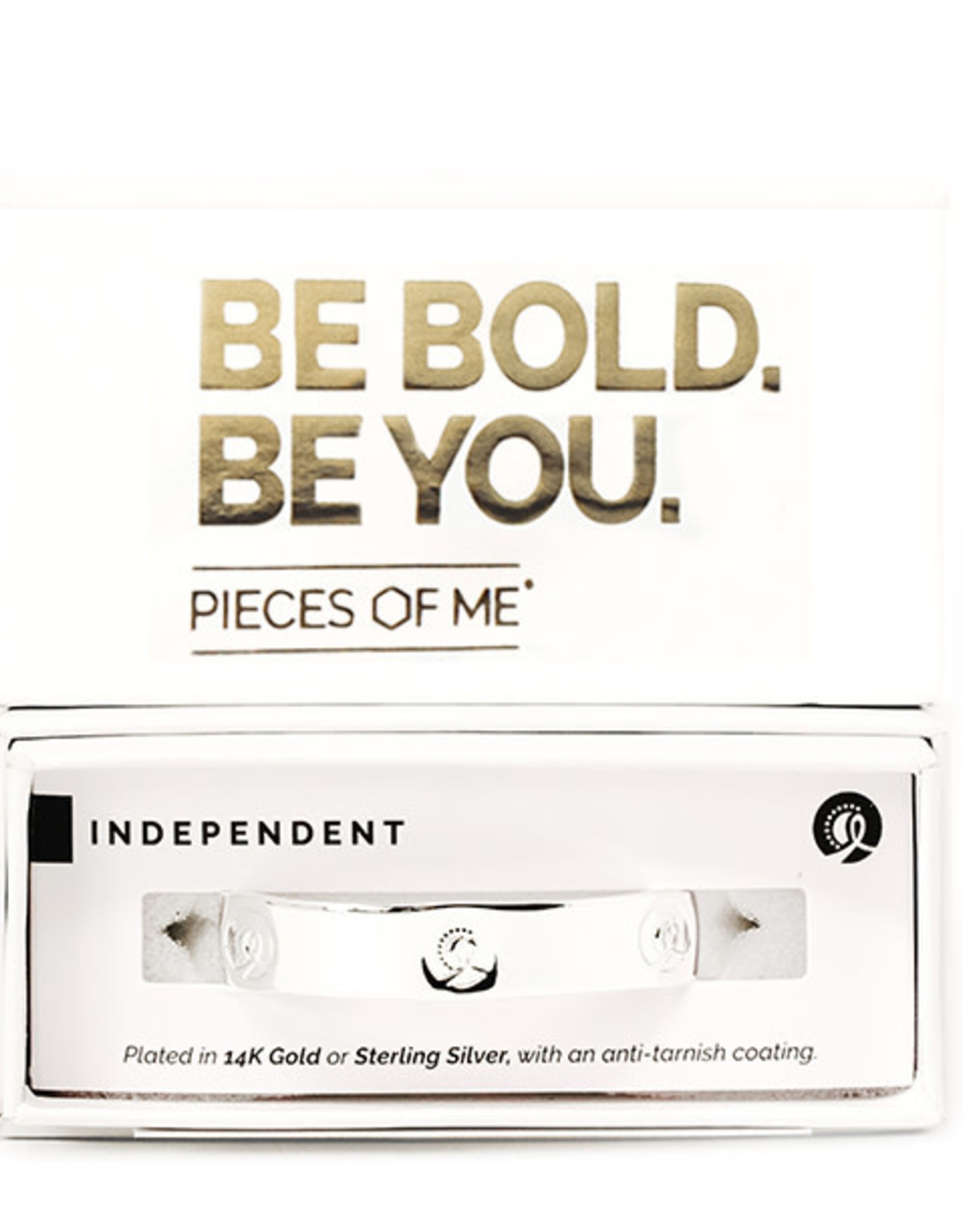 Pieces of Me Bracelet Independent Silver