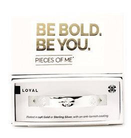 Pieces of Me Bracelet Loyal Silver