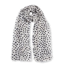 Katie Loxton Sentiment Scarf Live to Dream Navy
