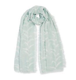 Katie Loxton Sentiment Scarf Life is Beautiful Sage
