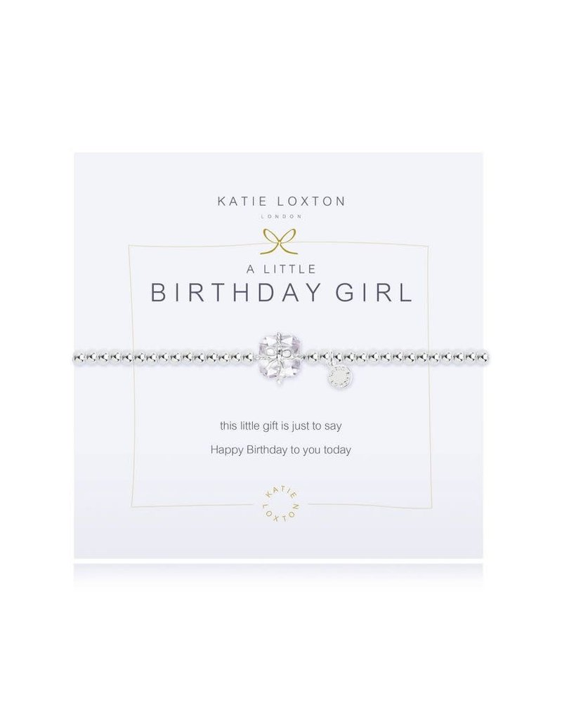 Katie Loxton Katie Loxton Bracelet-Birthday Girl Crystal