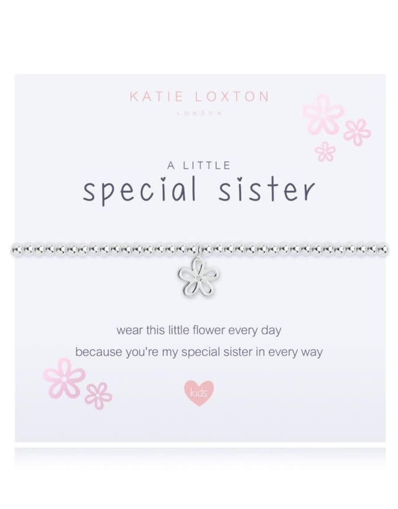 Katie Loxton Child's Beaded Bracelet Special Sister