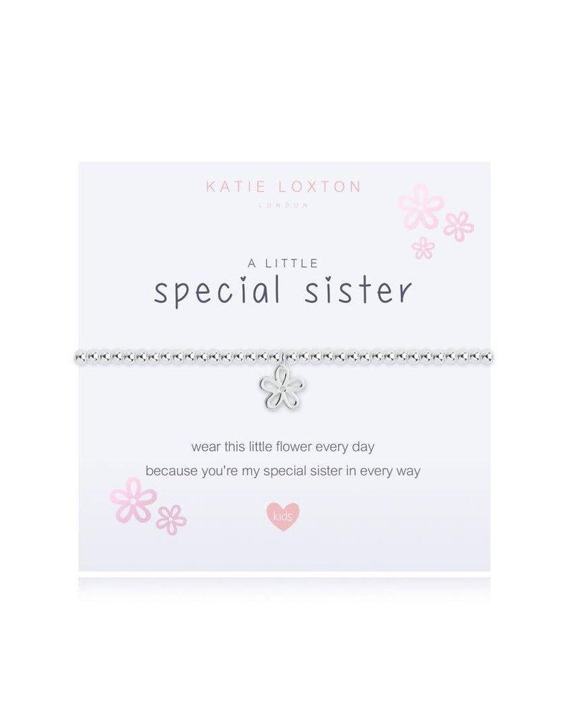 Katie Loxton Katie Loxton Children's Beaded Bracelet- Special Sister