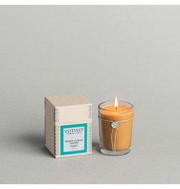 Votivo 6.8 oz Candle White Ocean Sands