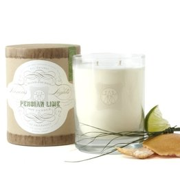 Linnea's Lights Linneas Lights Double Wick Candle Persian Lime