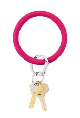 O Venture Big O Silicone Keyrings I Scream Pink