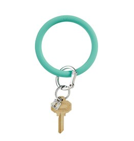 Big O Silicone Keyring In the Pool