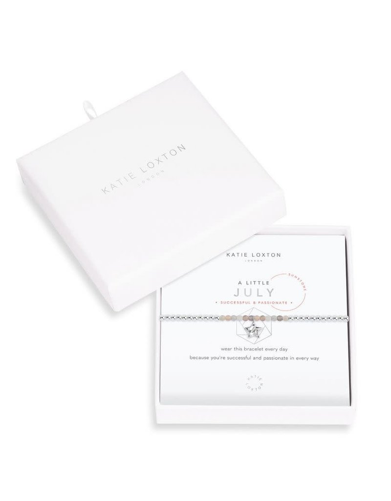 Katie Loxton Katie Loxton Little Birthstone Bracelet July Sunstone