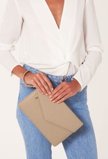 Katie Loxton Esme Envelope Clutch Tres Chic Taupe