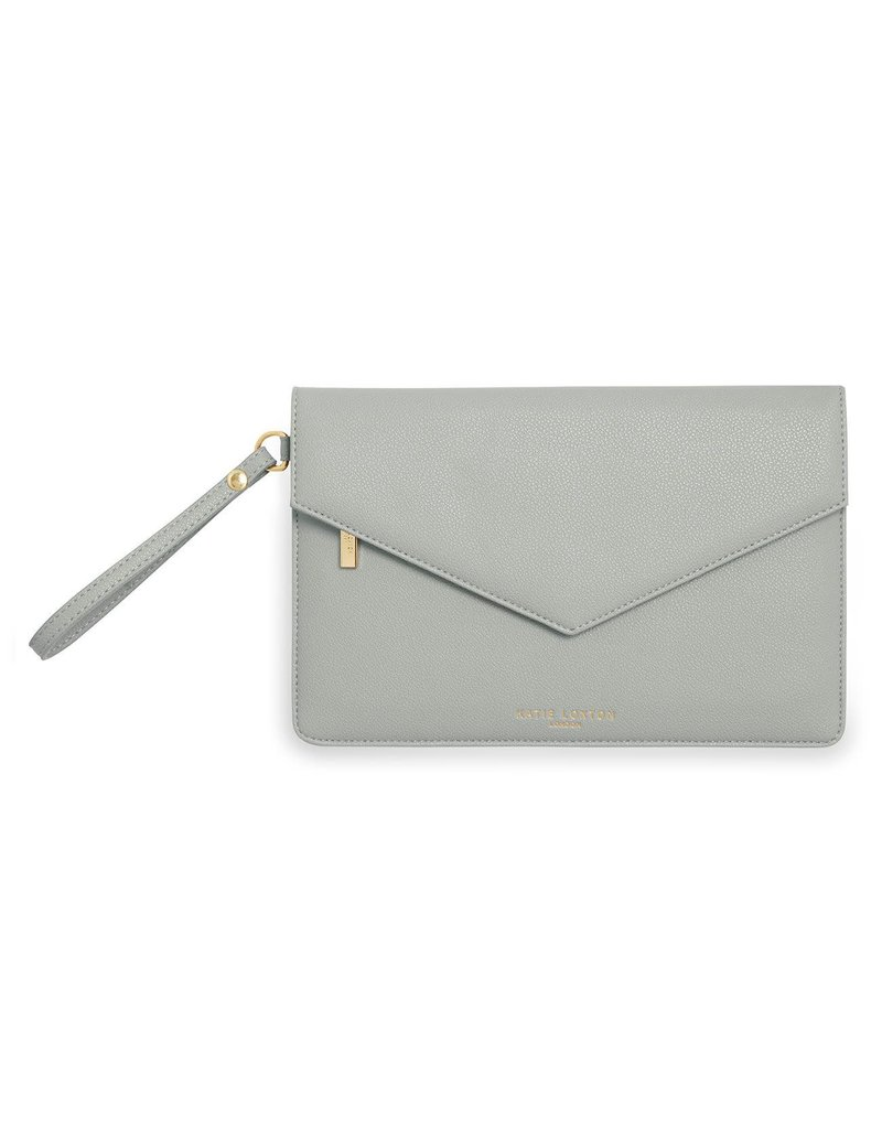 Katie Loxton Katie Loxton Esme Envelope Clutch Be Happy Grey