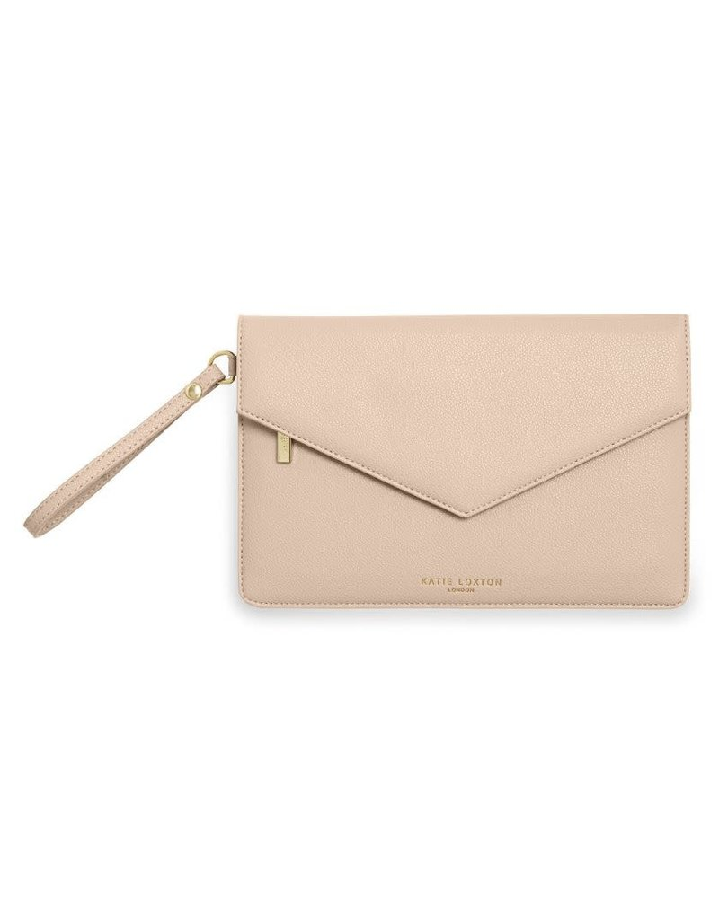 Katie Loxton Katie Loxton Esme Envelope Clutch Beautiful Nude Pink