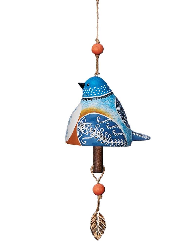 Ceramic Bell Bluebird