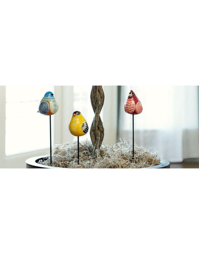 Garden/Pot Stake Bluebird