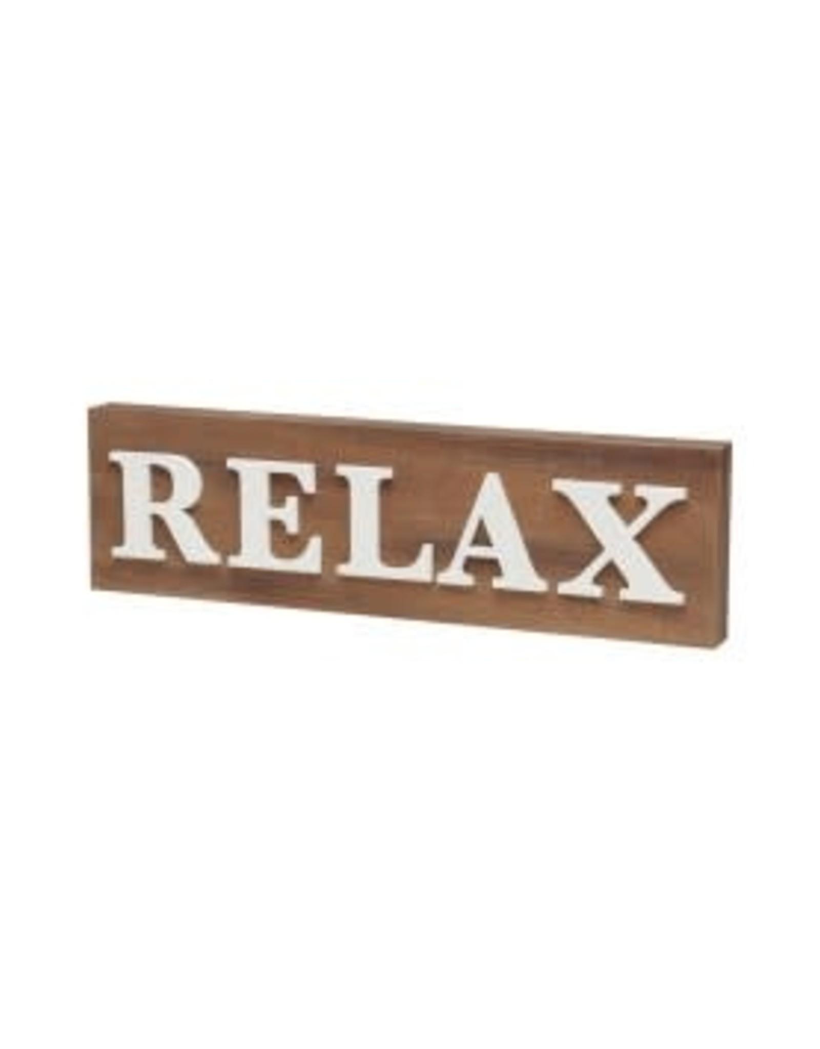 Collins Painting & Desgin Block Sign Relax 3D