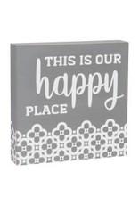 Collins Painting & Desgin Box Sign Happy Place