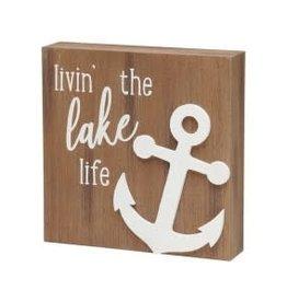 Collins Painting & Desgin Box Sign Livin' Lake 3D