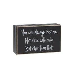 Box Sign Trust Me