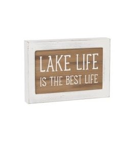 Collins Painting & Desgin Layered Sign Lake Life