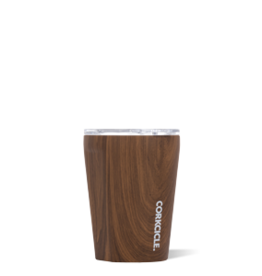 Corkcicle Tumbler- 12oz Walnut Wood