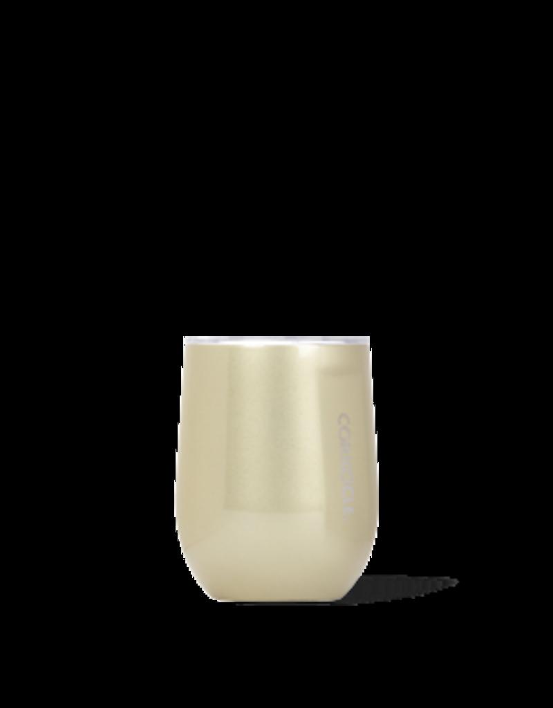 Corkcicle Corkcicle Stemless Wine Glass- 12oz  Unicorn Glampagne