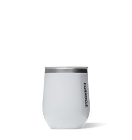 Corkcicle Corkcicle Stemless Wine Glass- 12oz White