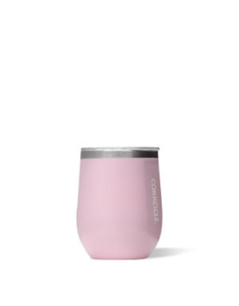 Corkcicle Corkcicle Stemless Wine Glass- 12oz Rose Quartz