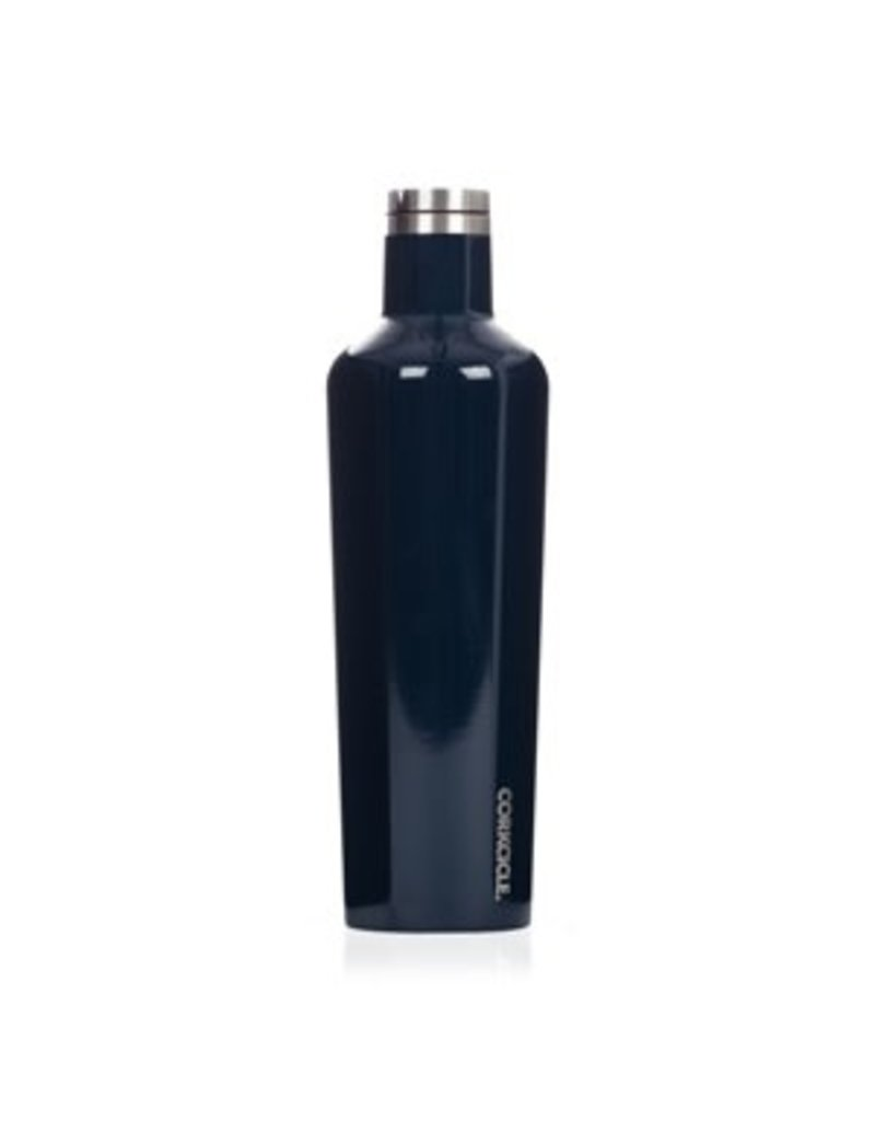 Corkcicle Corkcicle Canteen- 25oz Gloss Navy