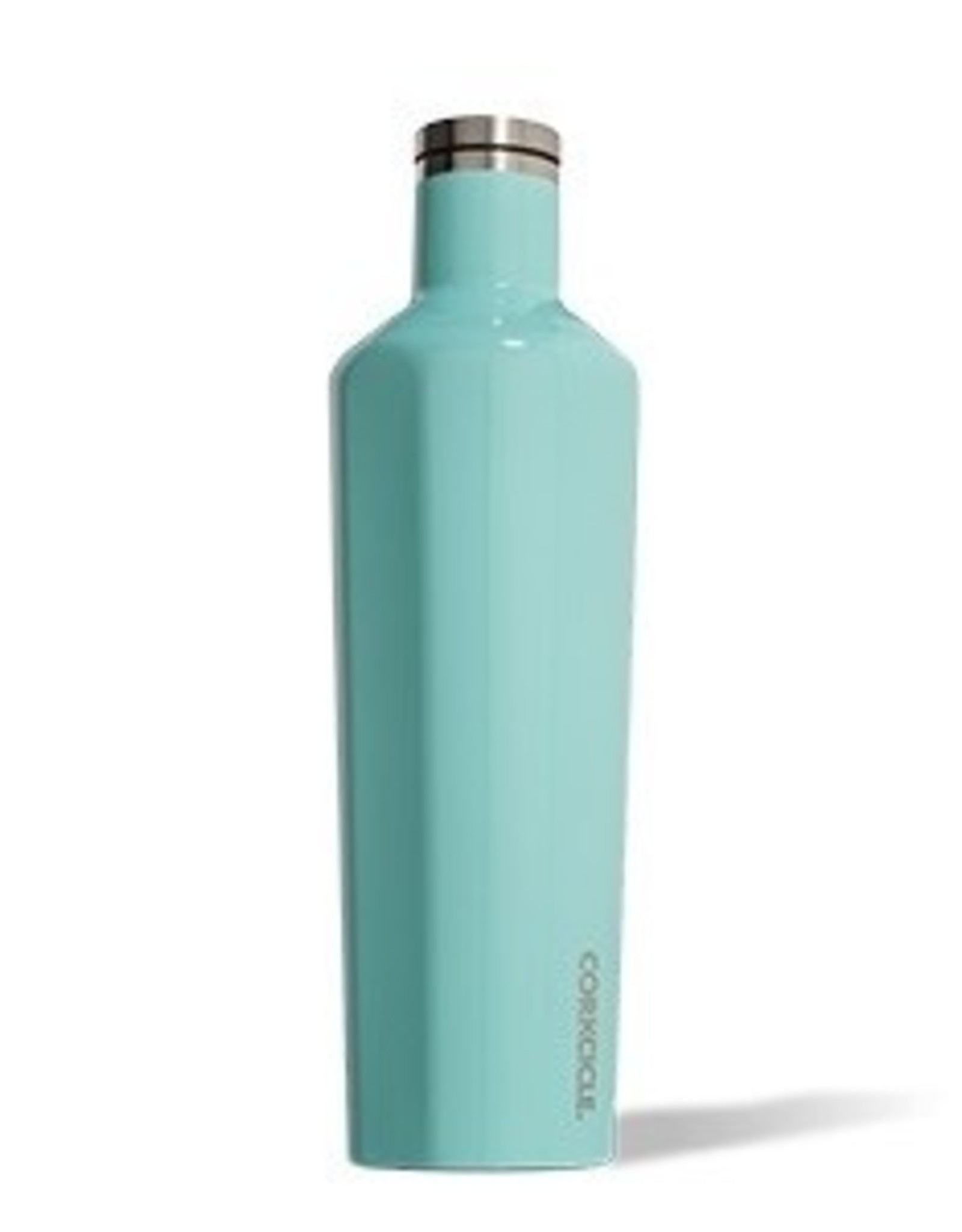 Corkcicle Canteen- 25oz Gloss Turquoise