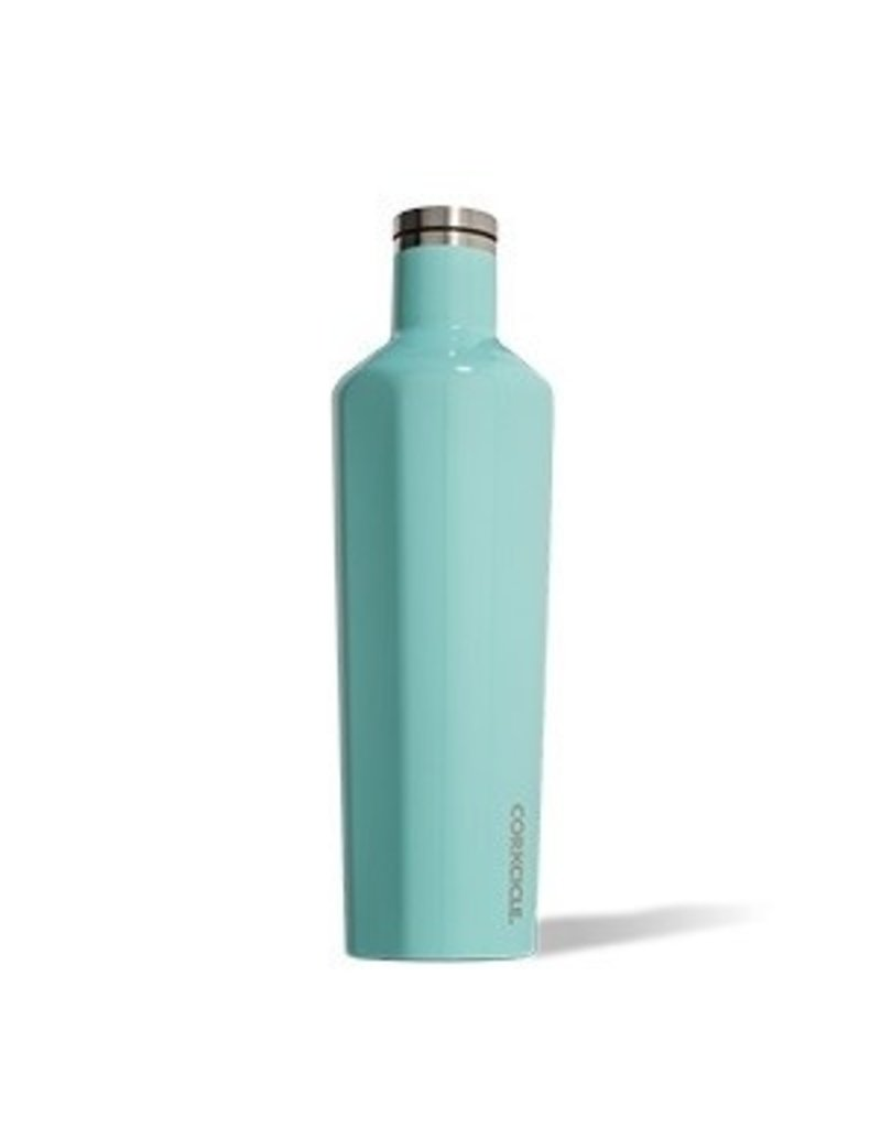 Corkcicle Corkcicle Canteen- 25oz Gloss Turquoise
