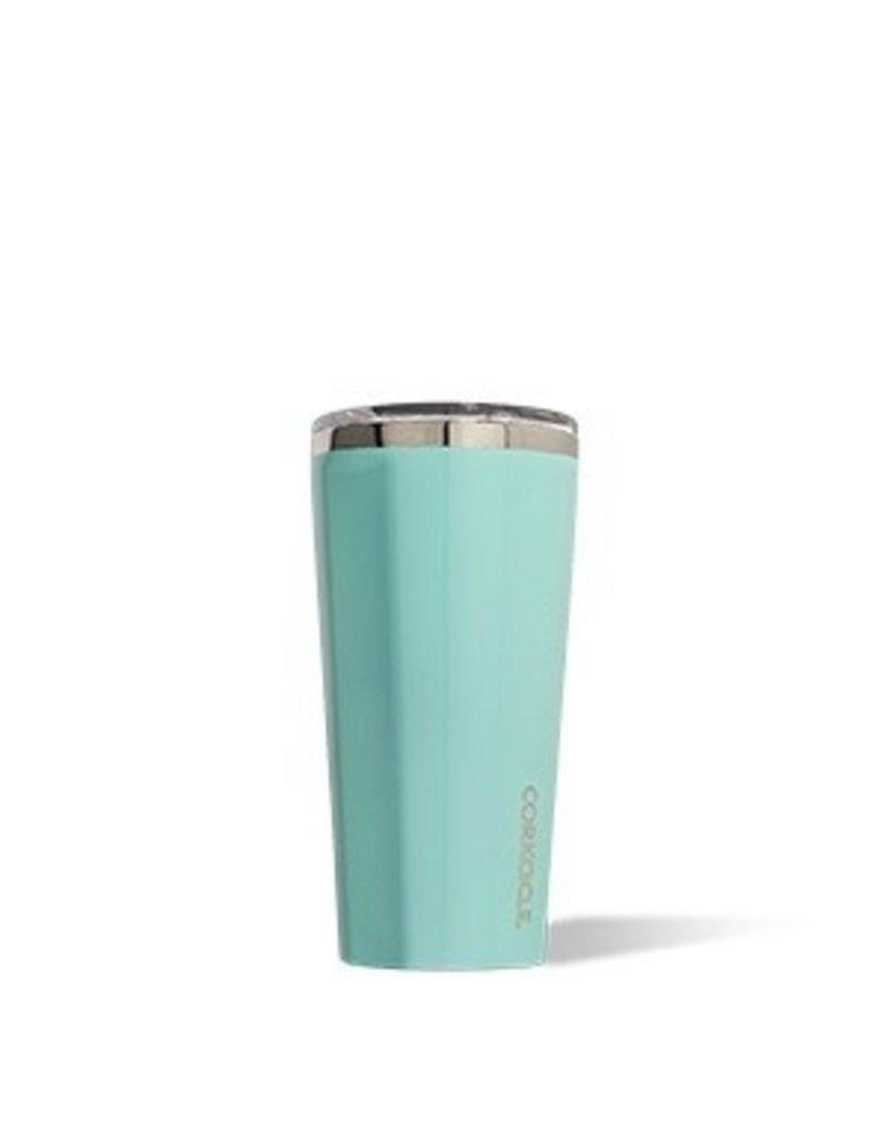 Corkcicle Tumbler- 16oz Gloss Turquoise