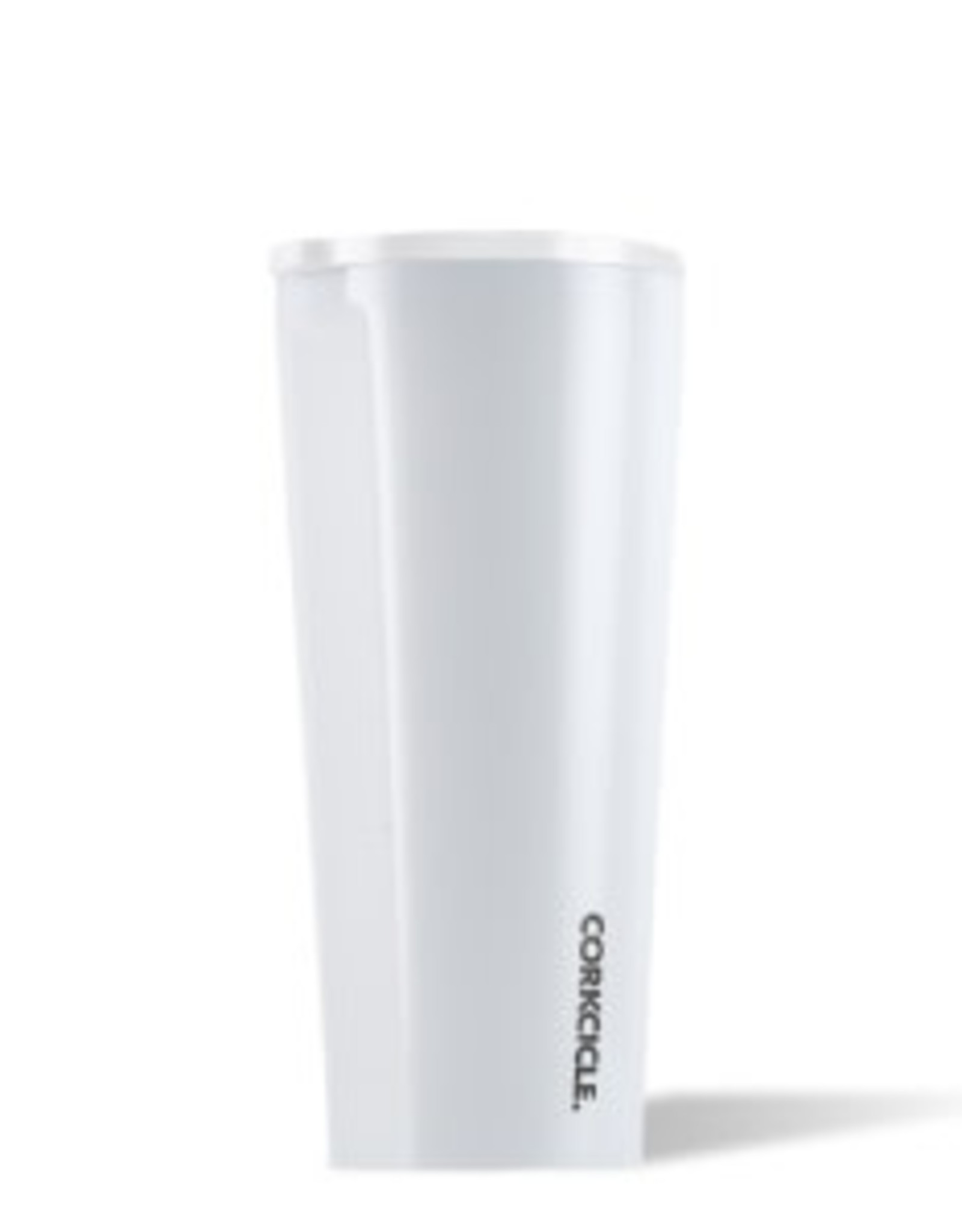 Corkcicle Tumbler- 24oz Gloss Dipped Modern White