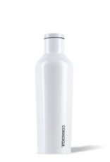 Corkcicle Canteen- 16oz Gloss Dipped Modernist White