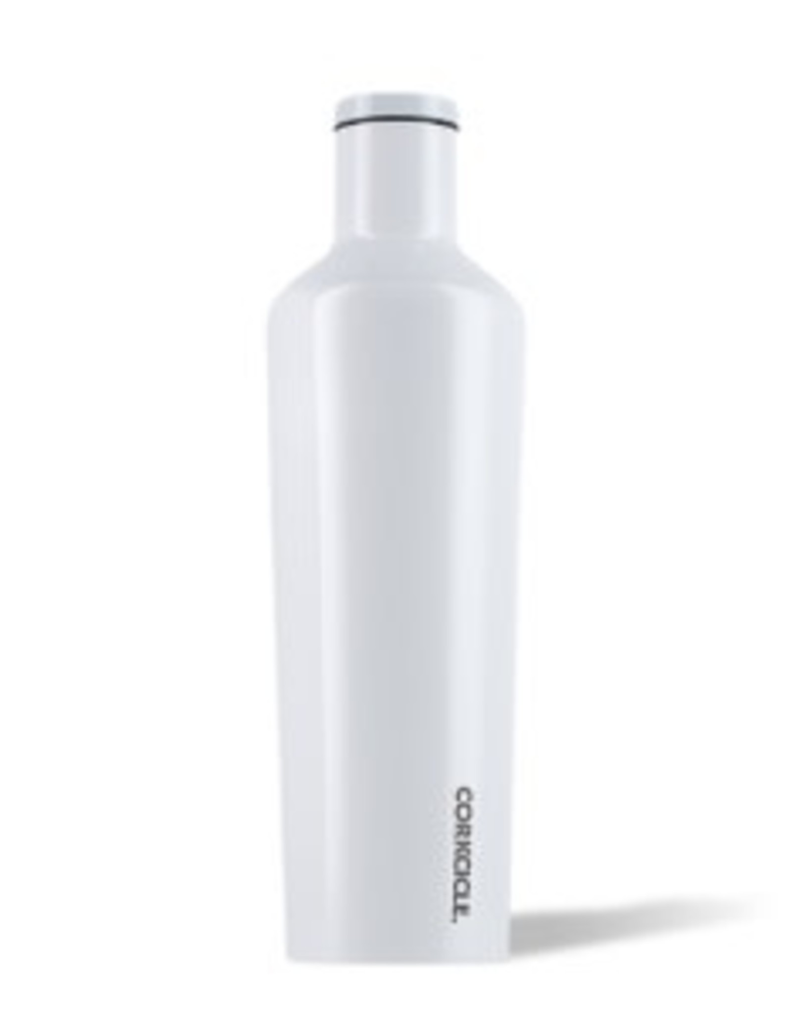 Corkcicle Canteen- 25oz Gloss Dipped Moderist White